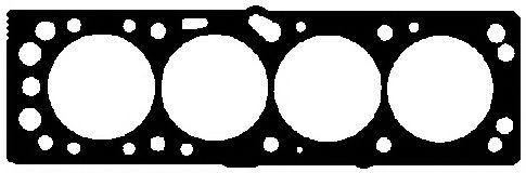 =186710 Прокладка головки блока OPEL CORSA/Tigra 1,6 ELRING 186711