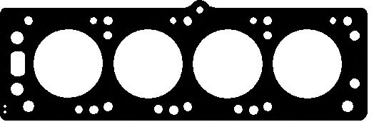 Прокладка головки блока OPEL 1.6D 16D/16DA 2! 1.50MM  82-86 (пр-во Elring)                           ELRING арт. 351343