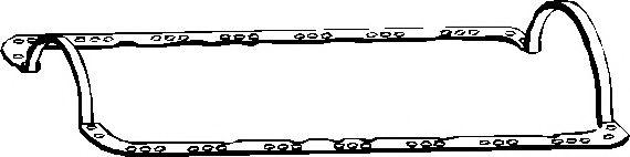Прокладка піддону картера гумова  арт. 587486