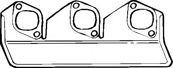 ELRING BMW Прокладка коллектора вып.5/6/7серия (M30) ELRING 762199