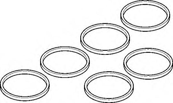 Комплект прокладок, впускной коллектор  арт. 537890