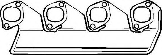 ELRING BMW Прокладка коллектора вып. 3серия (E30) -88 ELRING 835102