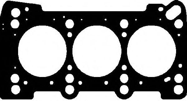 Прокладка головки блока VAG 2.5V6 TDI AFB/AKN/BAU (3CYL) 2R 1.15MM (пр-во Elring)                    ELRING арт. 447482