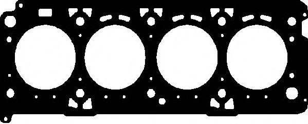 Прокладка головки блока FIAT DOBLO 1.6 16V 182B6 MLS (пр-во Elring)                                  ELRING арт. 761293