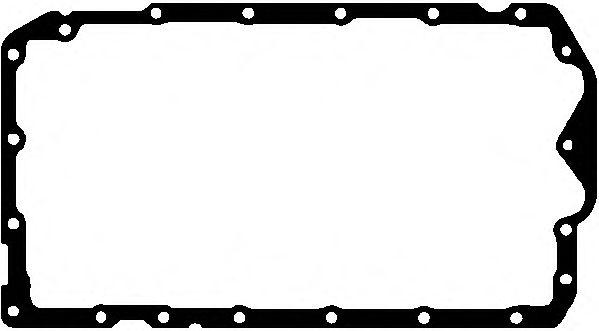 ELRING BMW Прокладка поддона 1E81/E87, 3 E46/E90 ELRING 190640