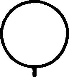 Прокладка, корпус впускного коллектора  арт. 359360