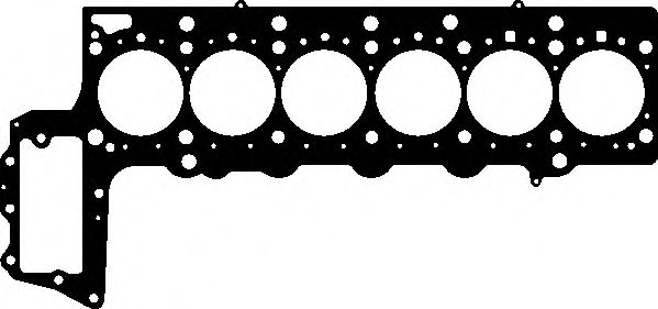 ELRING BMW Прокладка головки блока (1,47мм 1-отв.) E90/E60/E70 3,0d ELRING 058053