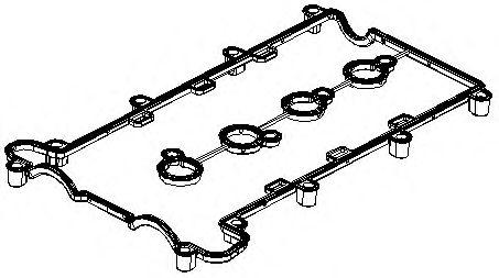 Прокладка крышки клапанной ALFA 939A5, FIAT 194A1,OPEL Z22SE/Z22YH (пр-во Elring)                     арт. 880342