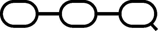 Прокладка впускного колектора  арт. 290930
