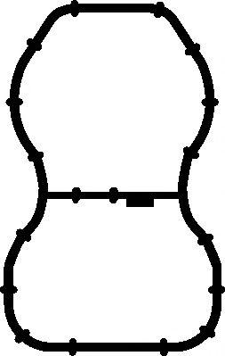 Прокладка колектора двигуна гумова  арт. 584600