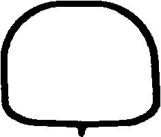 Прокладка впускного колектора  арт. 874301