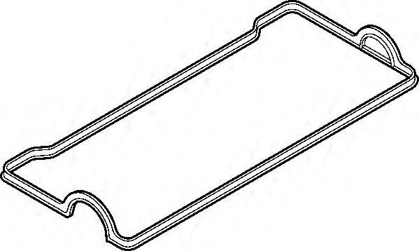 Прокладка крышки клапанной TOYOTA 4A-FE/7A-FE (пр-во Elring)                                          арт. 707961