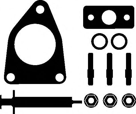 Комплект прокладок турбины Citroen Jumpy/Fiat Scudo 2.0 07-  арт. 714640