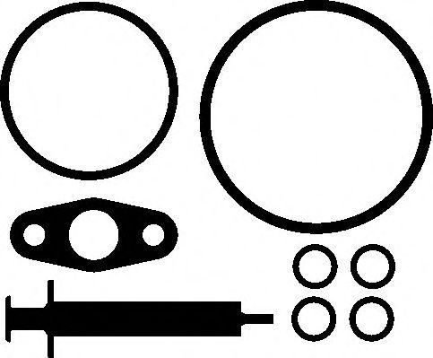К-т прокладок турбокомпрессора  арт. 736520