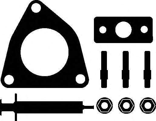 Турбокомпрессор Прокладка турбіни ELRING арт. 745110