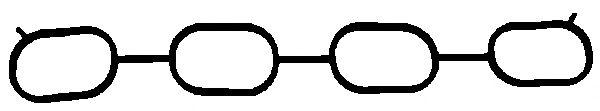Прокладка, впускной коллектор  арт. 169720