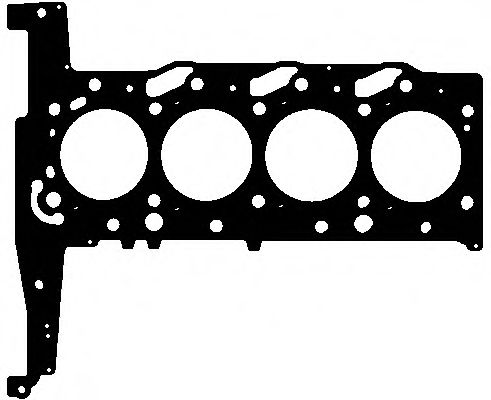Прокладка головки блока металева  арт. 265381