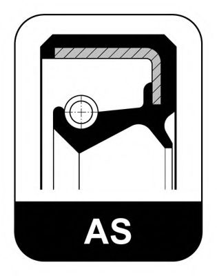 Уплотняющее кольцо, ступица колеса  арт. 587036
