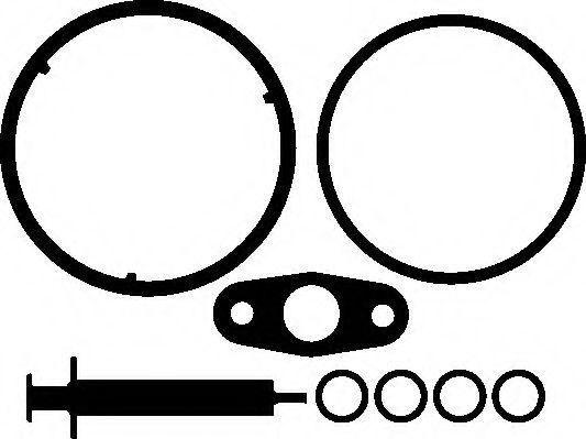 ELRING 452.390 ZESTAW MONT TURBOSPR BMW  арт. 452390