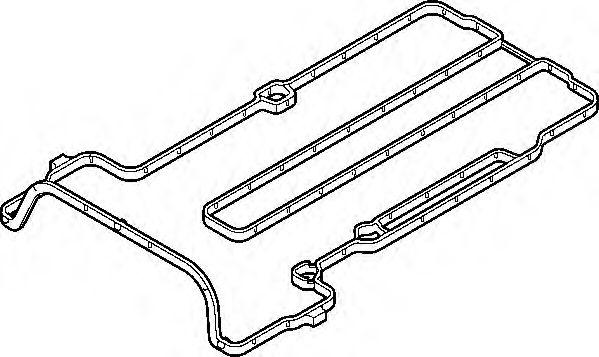 Прокладка клапанної кришки гумова  арт. 691370