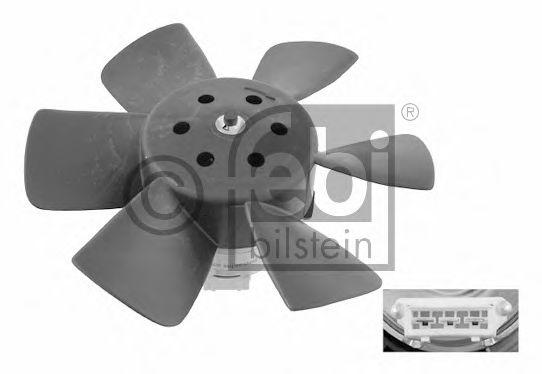 FEBI VW Вентилятор радиатора 100 60W,280мм FEBIBILSTEIN 06989