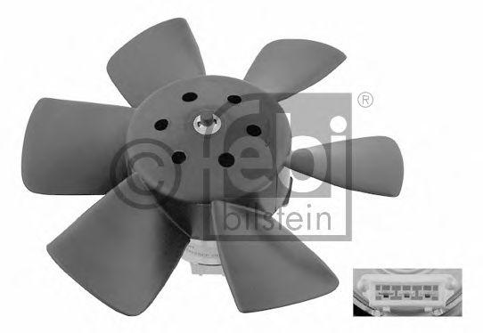 FEBI VW Вентилятор радиатора 200 120W,280мм FEBIBILSTEIN 06990