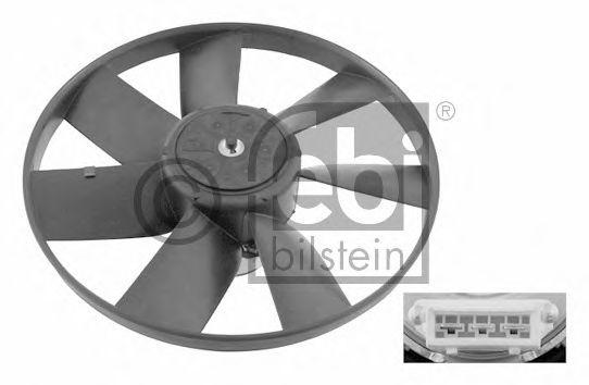FEBI VW Вентилятор радиатора с моторчиком Golf III Passat 90- Vento FEBIBILSTEIN 06993