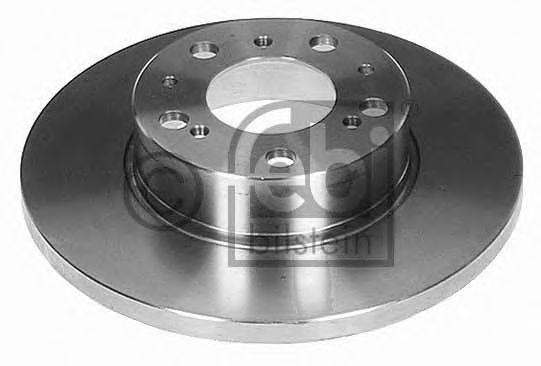 FEBI  FIAT Тормозной диск передний DUCATO TD 86- 290 16 14.8 FEBIBILSTEIN 07899