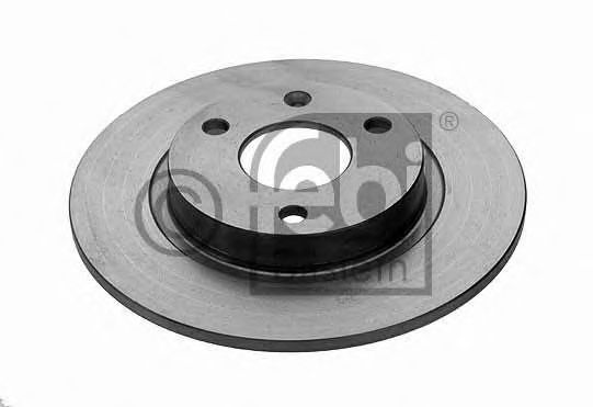 FEBI CITROEN Тормозной диск передний AX,Saxo,Peugeot 106 86- FEBIBILSTEIN 10318
