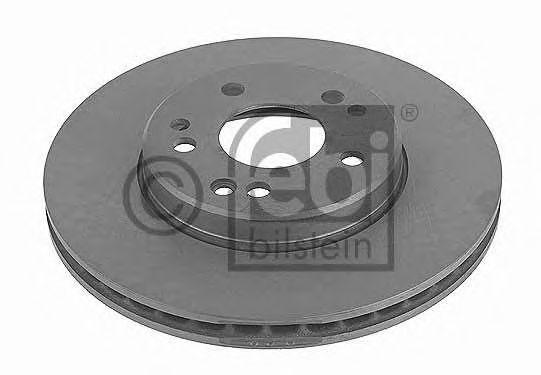 FEBI DB Диск тормозной вентилируемый передний W124 7/93-95 FEBIBILSTEIN 10683