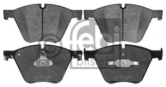 FEBI BMW Тормозные колодки передн.5 Gran Turismo,7 F01,X5 E70,F15,X6 E71,F16 09- FEBIBILSTEIN 116032