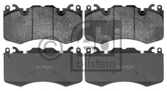 FEBI RANGE ROVER Тормозные колодки передн.Range Rover 5.0 09- FEBIBILSTEIN 116126