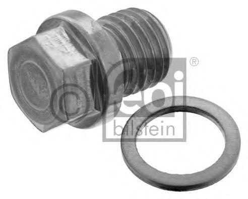 Пробка маслосливного отверстия с уплотнительным кольцом (пр-во FEBI) в интернет магазине www.partlider.com