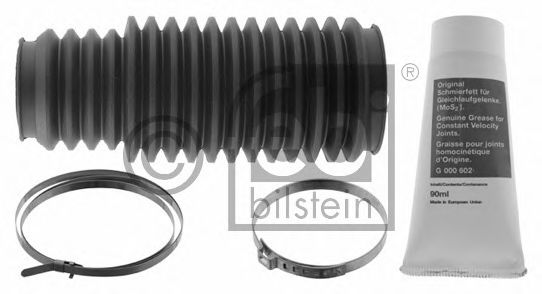 FEBI BMW Защита рулев. рейки E39 (пыльник+смазка+хомуты) FEBIBILSTEIN 12643