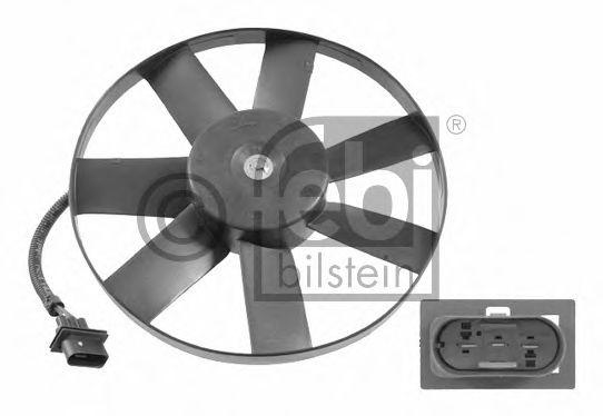 FEBI VW Вентилятор радиатора Bora,Golf 98- AUDI A3 96- FEBIBILSTEIN 14748