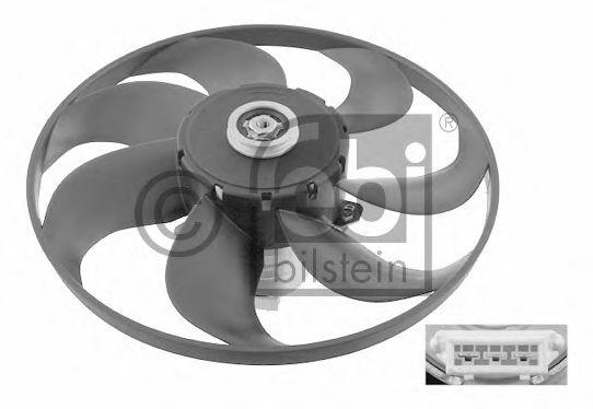 FEBI VW Вентилятор двиг.(345мм) Passat -97 FEBIBILSTEIN 14848