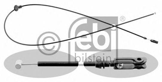 FEBI DB Тросик капота W201 FEBIBILSTEIN 15174