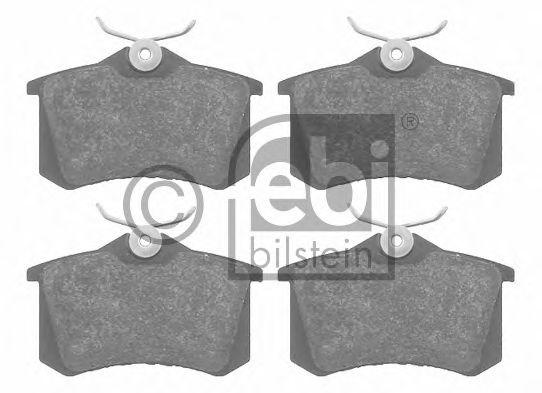 FEBI VW Колодки торм.задн.Golf,Vento 1,8/2,0GTI2,8VR6 -92 FEBIBILSTEIN 16148