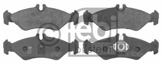FEBI DB Тормозные колодки задн.Sprinter VW LT 96-  (торм.сист.Teves) FEBIBILSTEIN 16162