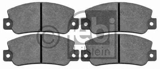 Комплект тормозных колодок, дисковый тормоз  арт. 16168