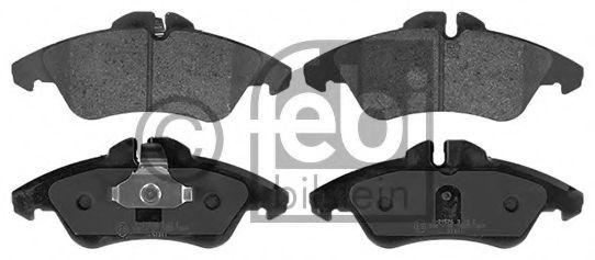 FEBI DB Тормозные колодки дисковые Sprinter, Vito FEBIBILSTEIN 16251
