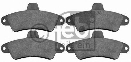 FEBI FORD Тормозные колодки задние Mondeo 1.6-2.0 93- FEBIBILSTEIN 16393