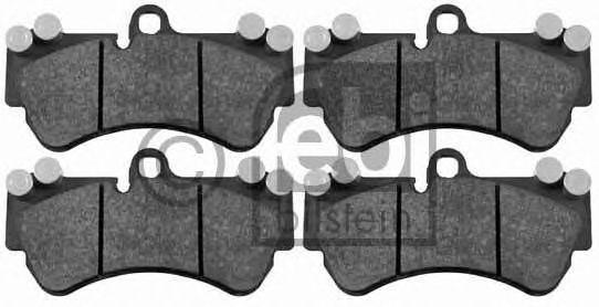 FEBI VW Тормозные колодки передние Touareg FEBIBILSTEIN 16459
