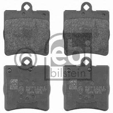 FEBI DB Тормозные колодки задние C 200,230 96- FEBIBILSTEIN 16474