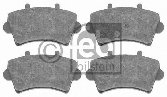 FEBI RENAULT Тормозные колодки передн. Master 98-Opel Movano 98- FEBIBILSTEIN 16495