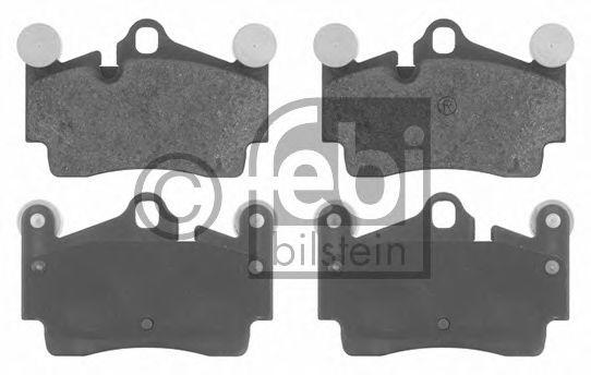 FEBI VW Тормозные колодки задн. Touareg,Porsche Cayenne,Audi Q7 FEBIBILSTEIN 16619