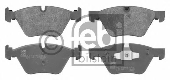FEBI BMW  Тормозные колодки передн.E90 07- FEBIBILSTEIN 16670