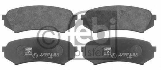 FEBI TOYOTA Тормозные колодки дисковые задн.Land Cruiser 98- FEBIBILSTEIN 16731