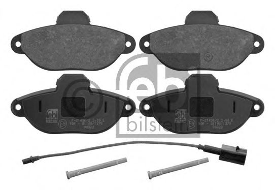 Комплект тормозных колодок, дисковый тормоз  арт. 16754