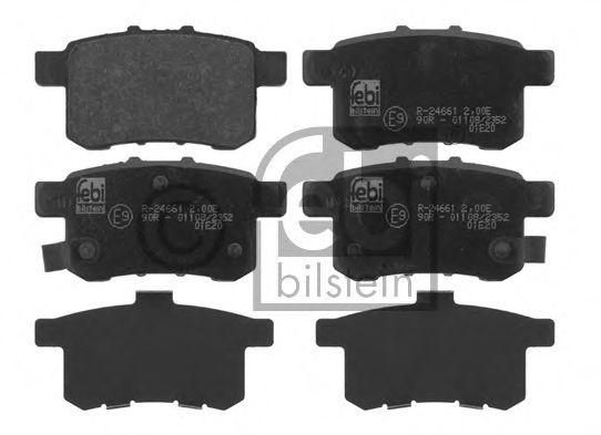 Комплект тормозных колодок, дисковый тормоз  арт. 16766